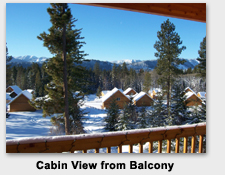 Cle Elum Area Rental Cabin Mountain View