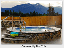 Roslyn Ridge Vacation Community Hot Tub