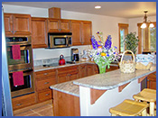 Vacation Cabin Rentals By Owner Second Full Kitchen