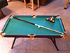 Kids Pool table at cabin near suncadia