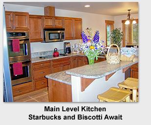 Suncadia Golf Area Rental Home Main Kitchen